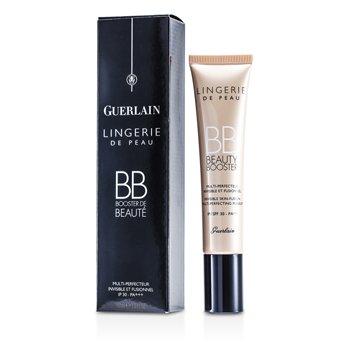 Guerlain Krem tonujący typu BB z ochronnym filtrem Lingerie De Peau BB Beauty Booster SPF 30 - # Natural  40ml/1.3oz