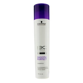 Schwarzkopf BC Smooth Perfect Shampoo (Vallattomille Hiuksille)  250ml/8.4oz
