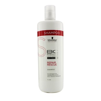 Schwarzkopf BC Repair Rescue Shampoo - For Damaged Hair (New Packaging)  1000ml/33.8oz