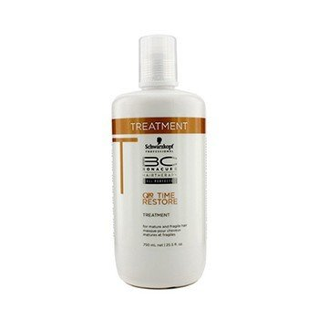 Schwarzkopf Kuracja do włosów dojrzałych i delikatnych BC Time Restore Q10 Plus Treatment (For Mature and Fragile Hair)  750ml/25.5oz