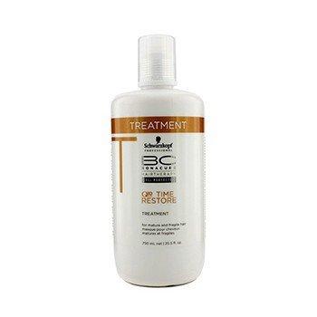 Schwarzkopf تقویت کننده موی BC Time Restore Q10 Plus - برای موهای مسن و شکننده (بسته بندی جدید)  750ml/25.5oz