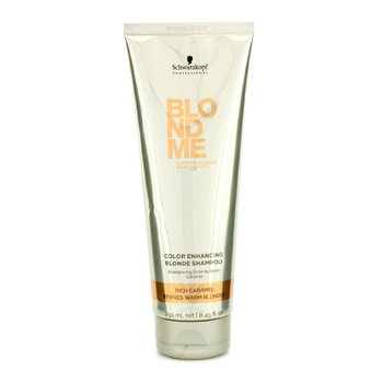 Schwarzkopf Blondme Color Enhancing Blonde Champ� - Rich Caramel (Revive Rubios Suaves)  250ml/8.45oz