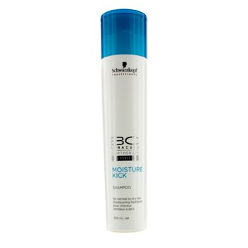 Schwarzkopf BC Moisture Kick Shampoo (For Normal to Dry Hair)  250ml/8.5oz