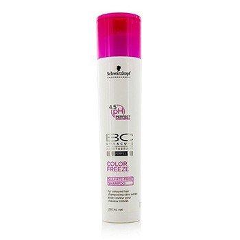 Schwarzkopf شامپو فاقد سولفات BC Color Freeze - برای موهای رنگ شده (بسته بندی جدید)  250ml/8.4oz