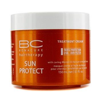 Schwarzkopf کرم محافظ موی BC Sun Protect (برای موهای آسیب دیده با نور آفتاب)  150ml/5.1oz