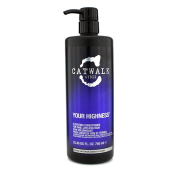 Tigi Condicionador Catwalk Your Highness Elevating (Cabelo Fino Sem Vida)  750ml/25.36oz