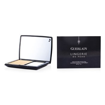 Guerlain Lingerie De Peau Nude Powder Foundation SPF 20 - # 32 Ambre Clair  10g/0.35oz