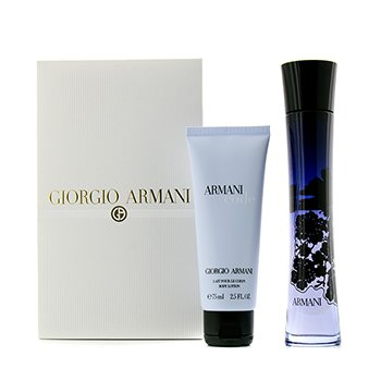 Giorgio Armani Code Femme Coffret: Eau De Parfum Spray 75ml/2.5oz + Body Lotion 75ml/2.5oz  2pcs