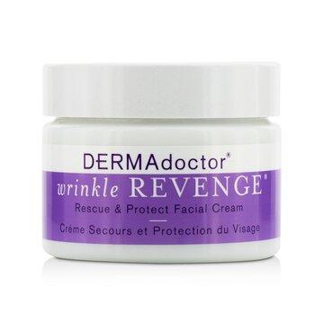 DERMAdoctor Wrinkle Revenge كريم الوجه للإنقاذ والحماية  50ml/1.7oz