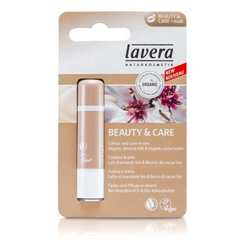Lavera Lip Balm - Beauty & Care Nude  4.5g/0.15oz