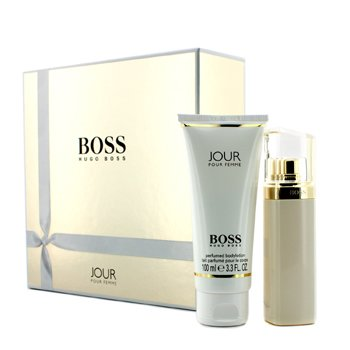 Hugo Boss Boss Jour Coffret: Eau De Parfum Spray 50ml/1.6oz + Loci�n Corporal 100ml/3.3oz  2pcs