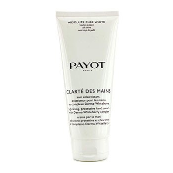 Payot Absolute Pure White Clarte Des Mains Lightening Protective Hand Cream (Salon Size)  200ml/6.7oz