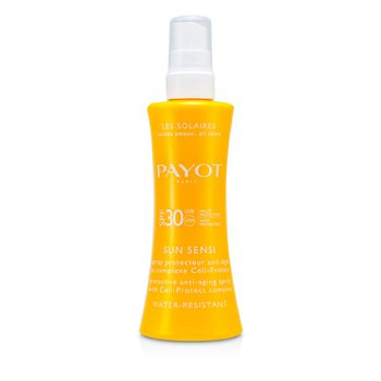 Payot Les Solaires Sun Sensi - Protective Anti-Aging Spray For Body (Resistante á Água)  125ml/4.2oz