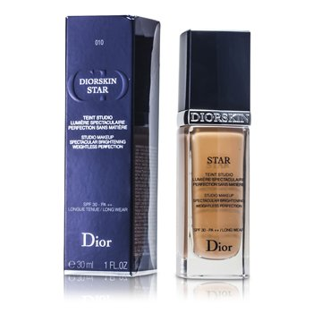 Christian Dior Base Diorskin Star Studio Makeup SPF30 - # 10 Ivory  30ml/1oz