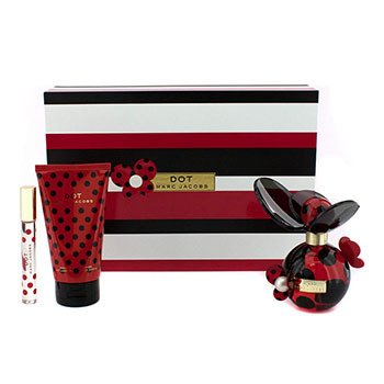 Marc Jacobs Dot Coffret: Eau De Parfum Spray 100ml/3.4oz + Loción Corporal 150ml/5.1oz + Eau De Parfum Rollerball 10ml/0.33oz  3pcs