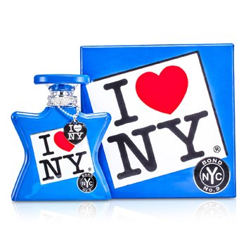 Bond No. 9 I Love New York For Him Eau De Parfum Spray (Edición Limitada/Con Collar Plateado)  100ml/3.4oz