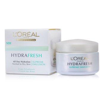 L'Oreal Hydrafresh All Day Hydration Emulsi�n Suprema  50ml/1.7oz