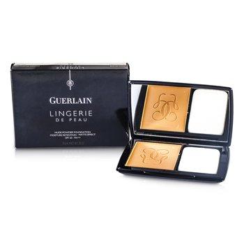 Guerlain پودر آرایش Lingerie De Peau با SPF20 - شماره 05 بژ تیره  10g/0.35oz