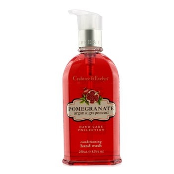 Crabtree & Evelyn Pomegranate, Argan & Grapeseed Conditioning Hand Wash  250ml/8.5oz