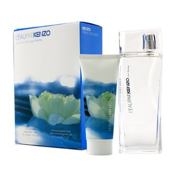 Kenzo L'Eau Par Kenzo Coffret: Eau De Toilette Spray 100ml/3.4oz + Moisturizing Body Gel 75ml/2.5oz  2pcs