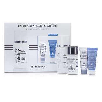 Sisley Kit Ecological Compound Discovery:Ecological Compound Day & Night 50ml, Global Perfect 10ml, Express Flower Gel 10ml...  4pcs