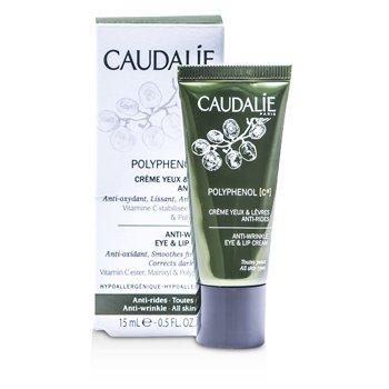 Caudalie Polyphenol C15 Anti-Wrinkle Eye & Lip Cream  15ml/0.5oz
