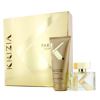Krizia Bộ Pour Femme: Eau De Parfum Spray 30ml/1oz + Dưỡng Thể 100ml/3.38oz  2pcs