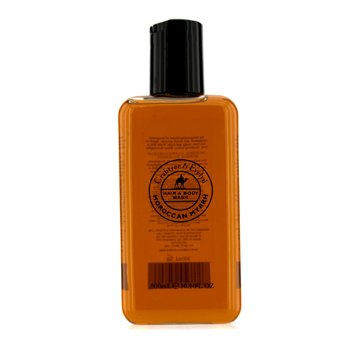 Crabtree & Evelyn Moroccan Myrrh Hair & Body Wash - Pembersih Badan  300ml/10.1oz