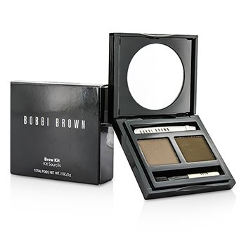 Bobbi Brown Brow Kit - # 02 Saddle/ Mahogany  3g/0.1oz