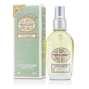 L'Occitane �leo Para Corpo Almond Supple - Firming & Beautifying  100ml/3.4oz
