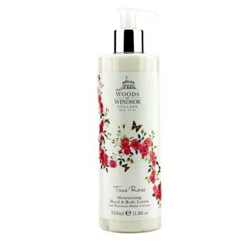 Woods Of Windsor True Rose Moisturising Hand & Body Lotion  350ml/11.8oz