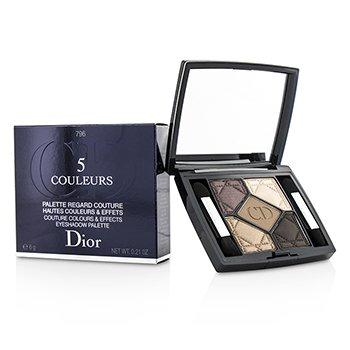 Christian Dior Paleta De Sombra 5 Cores Couture Colours & Effects - No. 796 Cuir Cannage  6g/0.21oz