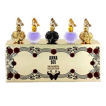 Anna Sui The Boheme Collection Coffret: La Nuit De Boheme Eau De Parfum + 2x La Nuit De Boheme Eau De Toilette + 2x La Vie De Boheme Eau De Toilette  5x4ml/0.14oz