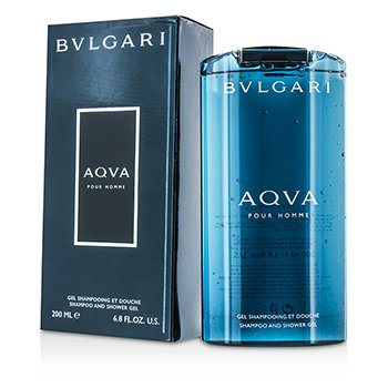 Bvlgari Aqva Pour Homme Shampoo & Shower Gel  200ml/6.8oz