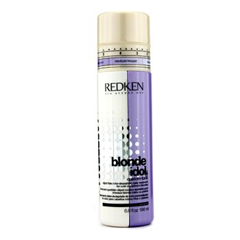 Redken Blonde Idol Custom-Tone Adjustable Color-Depositing Tratamiento Diario (Para Rubios Fríos o Platinos)  196ml/6.6oz