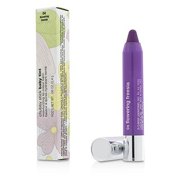 Clinique Chubby Stick Baby Tint Moisturizing Lip Colour Balm - # 04 Flowering Freesia  2.4g/0.08oz