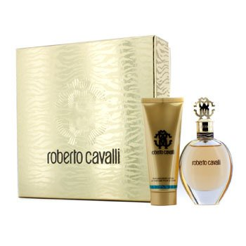 Roberto Cavalli Roberto Cavalli (New) Coffret: Eau De Parfum Spray 50ml/1.7oz + Body Lotion 75ml/2.5oz (Gold Box)  2pcs