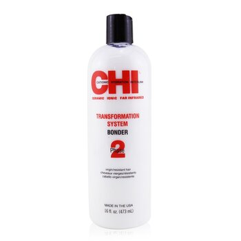 CHI Transformation System Phase 2 - Bonder Formula A (Para Cabello Virgen/Resistente)  473ml/16oz