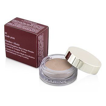 Clarins Ombre Matte Eyeshadow - #02 Nude Pink  7g/0.2oz