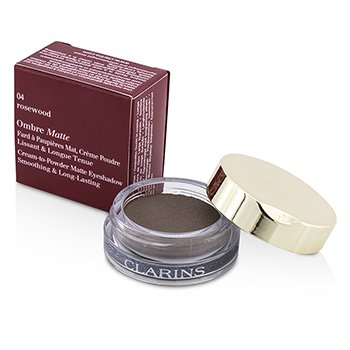 Clarins Ombre Matte Eyeshadow - #04 Rosewood  7g/0.2oz