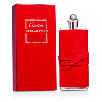 Cartier Declaration Eau De Toilette Spray (Leather Sheat/ Edition Prestige)  100ml/3.3oz