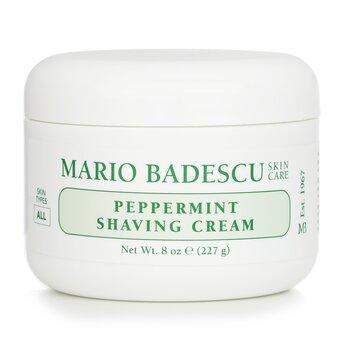 Mario Badescu Peppermint Crema para afeitar  236ml/8oz