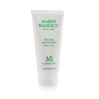 Mario Badescu Rolling Cream Peel With AHA - For All Skin Types  73ml/2.5oz