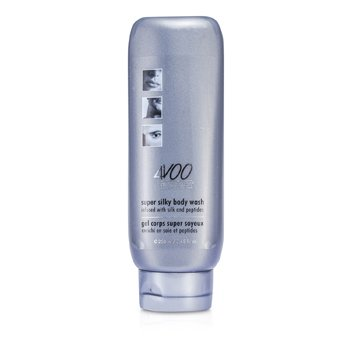 4V00 Distinct Man Super Silky Body Wash - Pembersih Tubuh (Infused with Silk and Peptides)  250ml/8.45oz