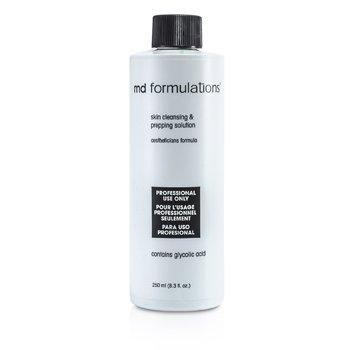 MD Formulations Skin Cleansing & Prepping Solution (Salon Size)  250ml/8.3oz