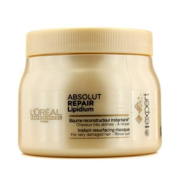 L'Oreal Professionnel Expert Serie - Absolut Repair Lipidium Instant Resurfacing Mascarilla (Para Cabello Muy Dañado)  500ml/16.9oz