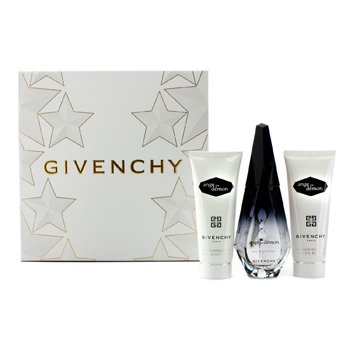 Givenchy Ange Ou Demon Coffret: Eau De Parfum Spray 50ml/1.7oz + Velo de Baño Sedoso 75ml/2.5oz + Gel de Baño Delicado 75ml/2.5oz  3pcs