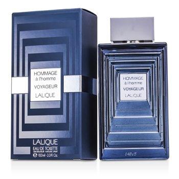 Lalique Hommage A L'Homme Voyageur Eau De Toilette Spray  100ml/3.3oz