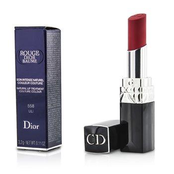 Christian Dior Rouge Dior Baume Tratamiento de Labios Natural Color Couture - # 558 Lili  3.2g/0.11oz