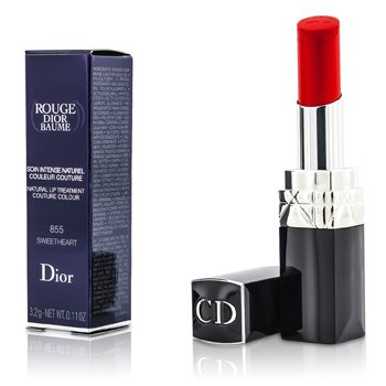 Christian Dior Rouge Dior Baume Natural Lip Treatment Couture Colour - # 855 Sweetheart  3.2g/0.11oz